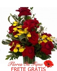 039-Arranjo de rosas