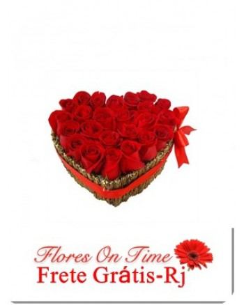 020-Coração de rosas